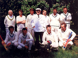 Ashby Carington Cricket Team