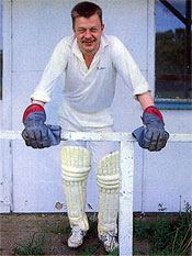Ashby Carington Cricketer